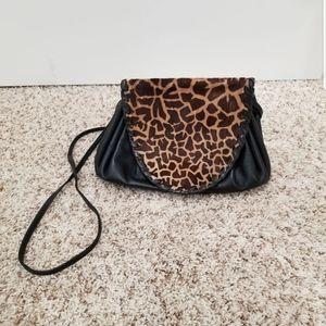Susan Gail Faux Leather Crossbody Bag